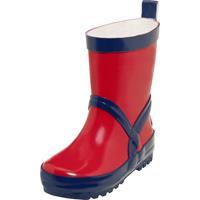 Playshoes regenlaarzen rood/marineblauw /21