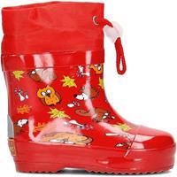 Playshoes korte regenlaarzen bosdieren rood