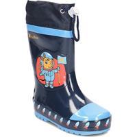 Playshoes regenlaarzen Astronautenmuis /35 donkerblauw