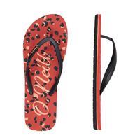 O'Neill Profile Graphic Sandals teenslippers zwart/rood