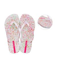 Ipanema Splash teenslippers wit/roze