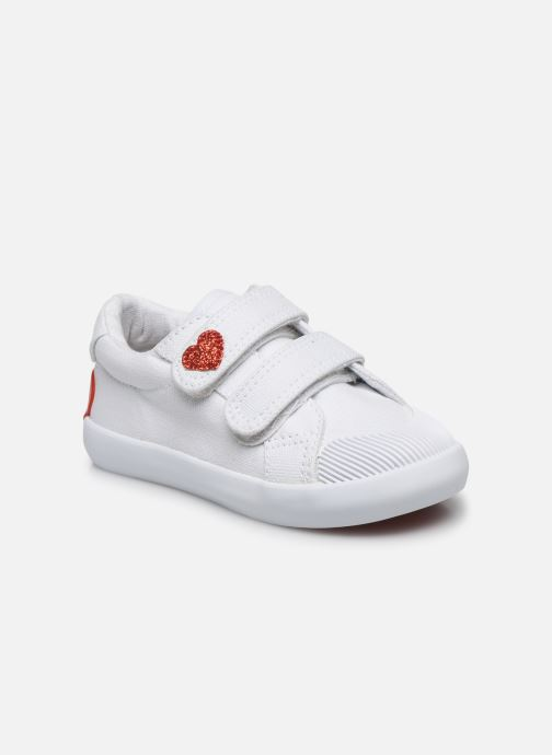 Vertbaudet Sneakers BF - Basket basse velcro toile by