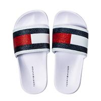 Tommy Hilfiger badslippers wit