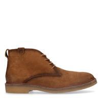 Sacha Cognac suède desert boots - bruin