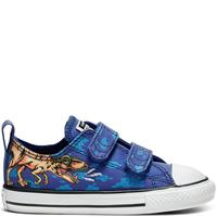 Converse Chuck Taylor All Star Dino's Beach Party Hook and Loop Low Top