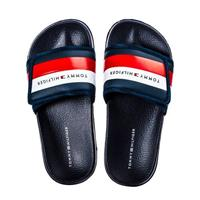 Tommy Hilfiger badslippers donkerblauw