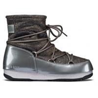 Moon Boot Low lurex grey silver grijs