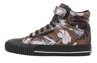British Knights DEE MEISJES SNEAKERS HOOG, BROWN,, POLYESTER