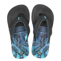 Reef Ahi Aqua Palms slippers