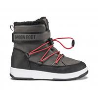 Moon Boot Junior boy boot wp black dark gray-schoenmaat 33