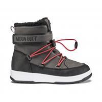 Moon Boot Junior boy boot wp black dark gray zwart