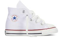 converse All Stars Hoog Kids 7J253C Wit-18 maat 18