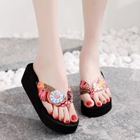 newchic Women Clothes Band Clip Toe Platform Slippers