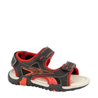 Bobbi-Shoes sandalen zwart/rood