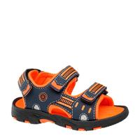 Bobbi-Shoes sandalen blauw/oranje