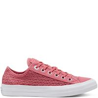 Converse CTAS OX SHIMMER/MADDER PINK/WIT