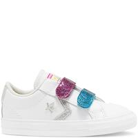 Converse Toddlers' Coated Glitter Easy-On Star Player Low Top