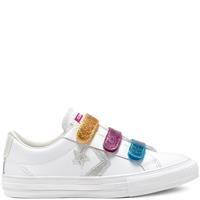Converse Big Kids Coated Glitter Easy-On Star Player Low Top