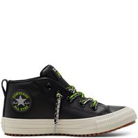 Converse Big Kids Double Lace Suede Chuck Taylor All Star Street Boot Mid