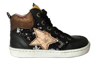 ShoesMe Zwarte  Veterschoenen