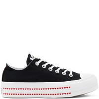 Converse Love Fearlessly Platform Chuck Taylor All Star Low Top