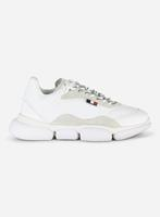 Moncler The Laced Bubble sneaker Wit