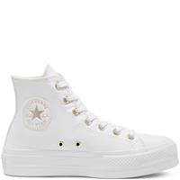 Converse Elevated Gold Platform Chuck Taylor All Star High Top voor dames