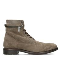 Sacha Taupe suède veterboots  - bruin