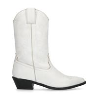 Manfield Off white western laarsjes