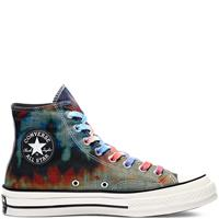 Converse Tie Dye Plaid Chuck 70 High Top
