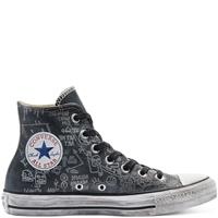 Converse CTAS LEATHER LTD HI BLACK GRAFFITI