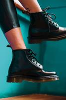 dr.martens Veterboot Zwart 101 BLACK SMOOTH