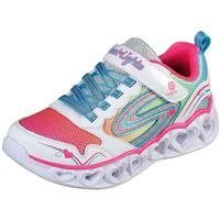 Skechers Heart Lights 20294N/WMLT Wit