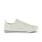 Crosshatch Men's Kashvault Suedette Trainers - White - Wit