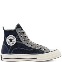 Converse Denim Patchwork Chuck 70 High Top