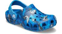 Crocs - Kid's Classic Shark Clog PS - Sandalen, blauw