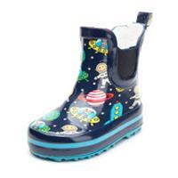 Beck rubber Boys laarzen Ruimte donkerblauw