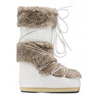 Moon Boot Women classic faux fur white