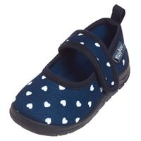 Playshoes instappers hartjes junior navy 8/19