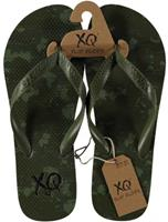 XQ Footwear teenslipper Army heren EVA legergroen