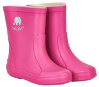 CeLaVi regenlaarzen Wellies junior rubber donkerroze