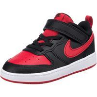 Nike Court Borough Low 2 sneakers zwart/rood