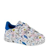 Bobbi-Shoes sneakers wit/blauw