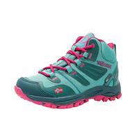Trollkids - Kid's Rondane Hiker Mid - Wandelschoenen, turkoois/roze