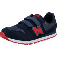 New Balance 500 sneakers donkerblauw/rood