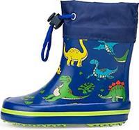 Beck rubberlaars Dino lichtblauw