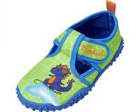 Playshoes waterschoen Dino jongens antislip roze/blauw  33