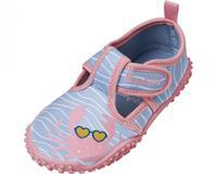 Playshoes waterschoen Krebs meisjes antislip roze/blauw  25