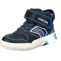 Sneakers MID J Grayjay Boy A GEOX jongens marineblauw