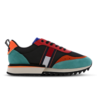 Tommy Jeans Abo Cleated - Blue - Nubuck -
